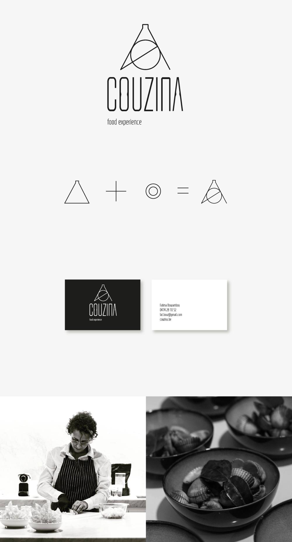 logo ontwerp voor Couzina - Portfolio Studejo