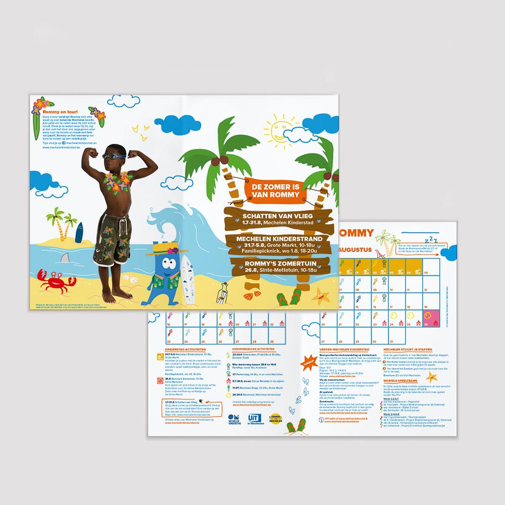 kalender de zomer is van rommy mechelen kinderstad