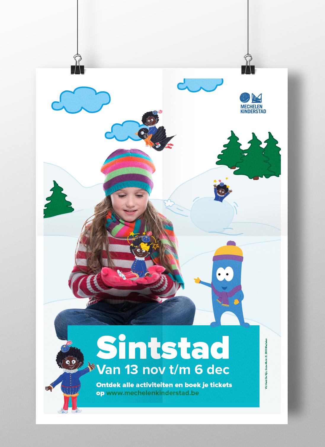 mechelen kinderstad poster