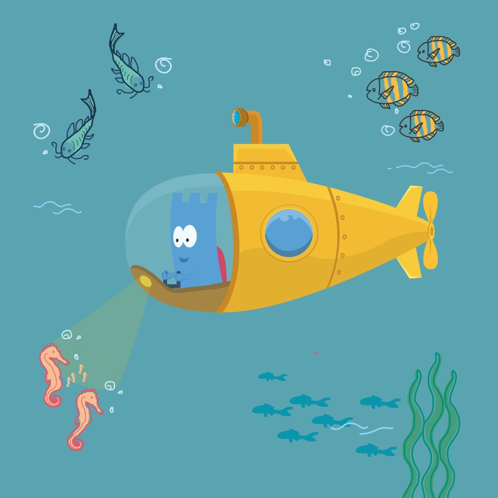 Onderwater Rommy